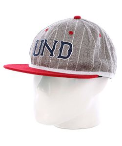 Undefeated | Бейсболка Und Felt Ebbets Ballcap Grey Heather