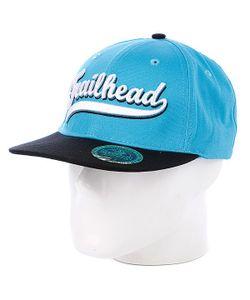 Trailhead | Бейсболка Script Snapback Blue/White