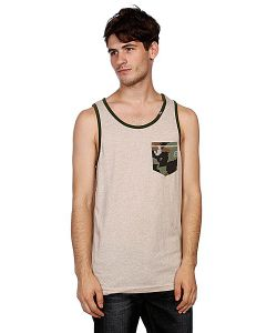 LRG | Майка Up Rise Tank Top Putty/Hthr