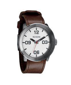 Nixon | Часы Corporal Silver/Brown