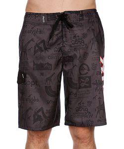 LRG | Пляжные Мужские Шорты Cc Icon Boardshort Black