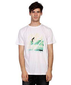 Hydroponic | Футболка Long Boarder White