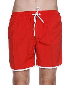 Globe   Пляжные Мужские Шорты Dana Retro Pool Short Red Clay