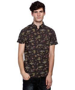Globe | Рубашка Crococlock Shirt Vint Blk
