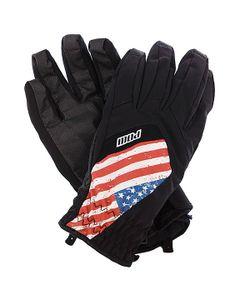 Pow | Перчатки Сноубордические Bandera Glove Usa