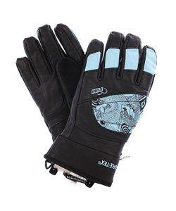 Pow | Перчатки Сноубордические Женские Ws Feva Glove Gtx Blue
