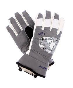 Pow | Перчатки Сноубордические Женские Ws Feva Glove Gtx Grey