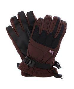 Pow | Перчатки Сноубордические Женские Ws Warner Glove Brown