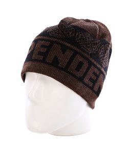 Independent | Шапка Woven Crosses Beanie Black/Heather Brown