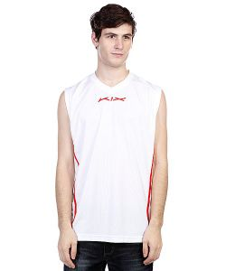 K1X | Футболка Hardwood League Uniform Jersey White/True Red