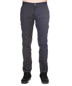 Enjoi | Штаны Boo Khaki Slim Straight Dark Charcoal