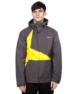 Zimtstern | Куртка Snow Jacket Vega Men Dark Grey/Yellow