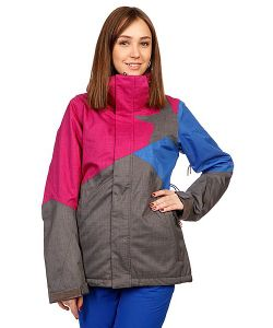 Zimtstern | Куртка Женская Snow Jacket Sarin Women Dark Grey