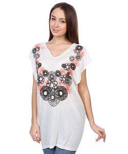 Neurotica | Футболка Женская Eclipsed Dress Ecru