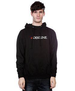 Dekline | Кенгуру Dk Bar Logo Hood Black