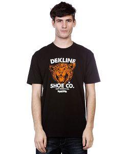 Dekline | Футболка Wild Cat Black