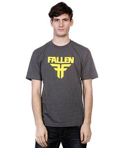 Fallen | Футболка Insignia Logo Heather Grey