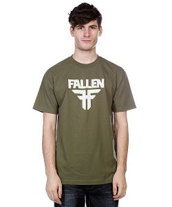 Fallen | Футболка Insignia Logo Surplus Green/Dust