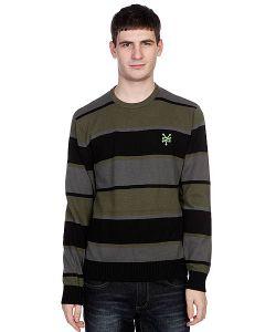 Zoo York | Джемпер Striped Crew Sweater Black