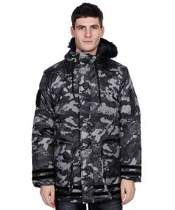 Zoo York | Пуховик Zoo Snorkle Black Camo