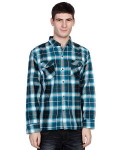 Enjoi | Рубашка Утепленная Not Bad Plaidturquoise