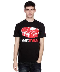 Enjoi | Футболка Eat Meat Premium Black
