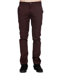 Enjoi | Штаны Boo Khaki Slim Straight Chino Brown