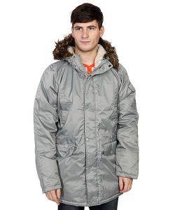 Today | Куртка Парка Oxford Parka Grey