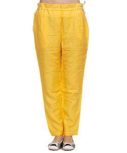 Loreak Mendian   Штаны Женские Pants Tangerina Surat Tencel Yellow Shadow