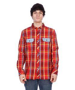 Element | Рубашка В Клетку Filmore Crimson Red