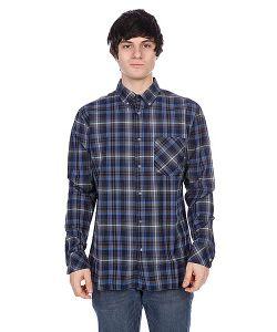 Element | Рубашка В Клетку Hooper Navy Blue
