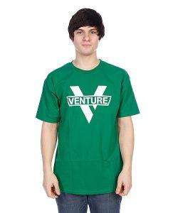 Venture | Футболка Vlogo Green/White