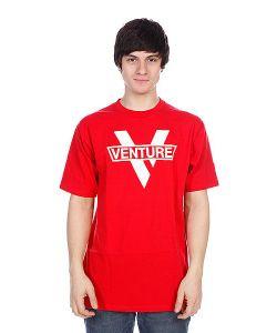 Venture | Футболка Vlogo Red/White