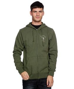 Huf | Толстовка Wartini Zip Hood Army
