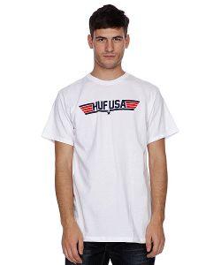 Huf | Футболка Top White