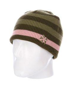 Animal | Шапка Женская Dipper Reversibe Stripe Beanie