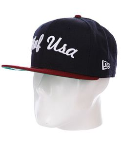 Huf | Бейсболка New Era Usa Newera Navy/Wine