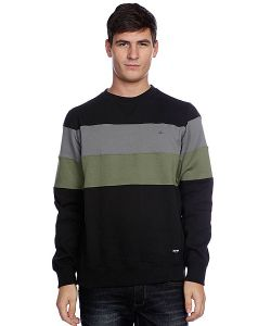 Zoo York | Свитшот Striped Crew Black