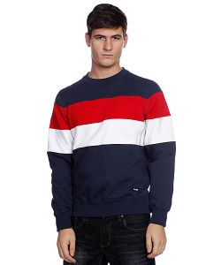 Zoo York | Свитшот Striped Crew Navy
