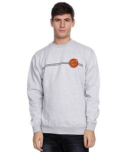 Santa Cruz | Толстовка Classic Dot Crew Grey Heather