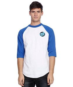 Santa Cruz | Лонгслив Other Dot Raglan White/Royal