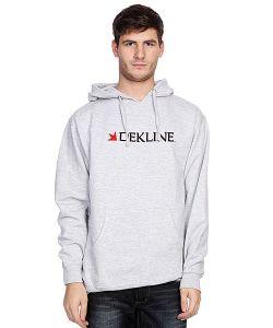 Dekline | Кенгуру Dk Bar Logo Hood Heat Grey