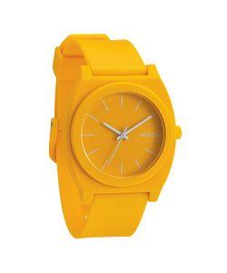 Nixon | Часы Time Teller P Matte Yellow