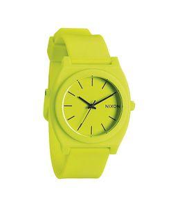 Nixon | Часы Time Teller P Neon Yellow