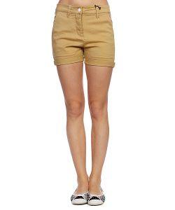 Colour Wear   Шорты Женские Hit Shorts Camel