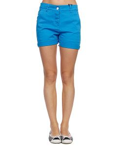Colour Wear   Шорты Женские Hit Shorts Loft Blue