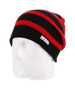 Neff | Шапка Носок Daily Stripe Black/Red