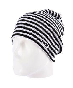 Neff | Шапка Носок Duo Stripe Black/White