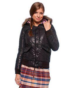 Zoo York | Куртка Зимняя Женская Motto Snorkel Black
