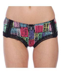 69Slam   Трусы Женские Glbwnd-Po Old Windows Lace Hip Hugg